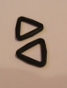 20mm black plastic Triangle x 10