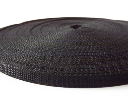 15mm  Webbing Black Quality in 20 metres