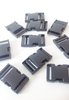 40mm Black Plastic Side Release Buckles x 10
