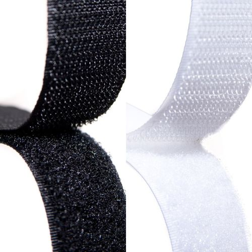 25mm x 25 Meters White Self Adhesive Sticky Backed Hook and Loop