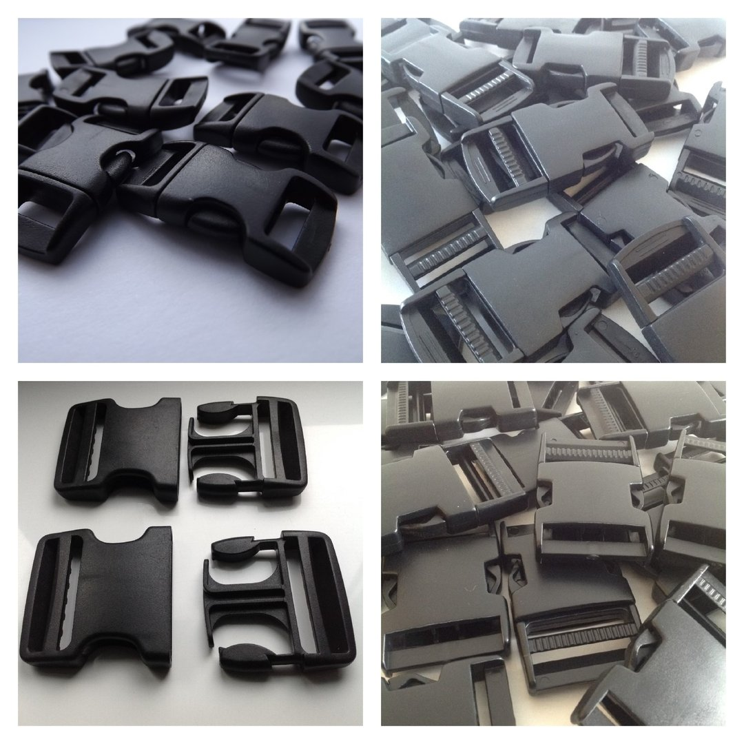 Side Release Buckles 10mm To 50mm