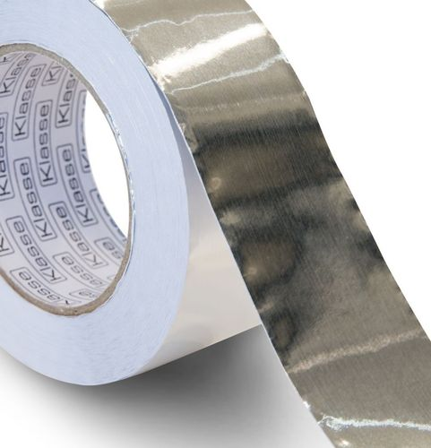 Roll Adhesive Aluminium Foil Tape 75mm x 45 metres Fireproof Waterproof
